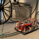 Il trenino della Lego nella sezione dedicata a Giochi e Passatempi